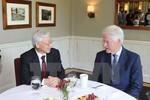 Tổng Bí thư thăm gia đình cựu Tổng thống Hoa Kỳ Bill Clinton