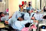 Tình trạng quá tải vẫn rất căng thẳng ở nhiều bệnh viện