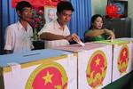 Bỏ phiếu, kiểm phiếu và xử lý vi phạm bầu cử Đại biểu Quốc hội