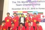Việt Nam thắng lớn trong kỳ thi vô địch các đội tuyển Toán thế giới 2016