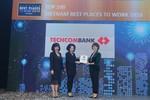 Techcombank thuộc tốp môi trường làm việc tốt nhất Việt Nam