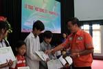 Masan trao hơn 200 triệu tiền học bổng tại Thái Nguyên và Nghệ An
