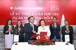 BRG và Sumitomo ký kết hợp tác phát triển  dự án đô thị Nhật Tân – Nội Bài