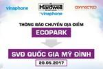 """""""Hardwell by VinaPhone"""" sẽ được tổ chức tại Sân vận động Mỹ Đình"""