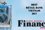Vinh danh VietinBank là Ngân hàng bán lẻ tốt nhất Việt Nam 2017