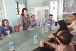 Bộ trưởng Y tế kiểm tra công tác khắc phục hậu quả cơn bão số 12