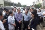 Bộ trưởng Y tế thị sát công tác phòng chống dịch bệnh tại Khánh Hòa