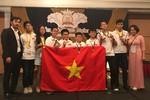 """8 học sinh trường Giảng Võ đoạt giải """"Thử thách cho Các nhà Toán học Tương lai"""""""