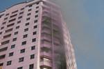 Hà Nội: Lại cháy lớn tại chung cư Hoàng Đạo Thúy