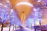 London tuyệt đẹp trong tuyết trắng