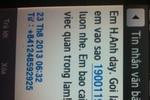Lại nở rộ tin nhắn lừa đảo từ tổng đài 19001199
