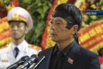 Lời cảm tạ của ông Võ Điện Biên trong quốc tang Đại tướng