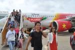 VietJetAir tăng chuyến phục vụ hành khách sau bão
