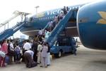 VNA, Jetstar Pacific hủy, điều chỉnh hàng loạt chuyến bay do bão