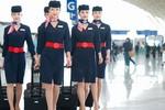 Đồng phục ấn tượng của tiếp viên hàng không thế giới