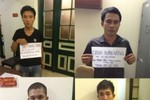 Công an bắt 4 đối tượng trộm cắp cây gỗ sưa ở Hà Nội và Thanh Hóa
