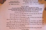 Tỉnh Thanh Hóa yêu cầu làm rõ hành vi tiếp tay của cán bộ trong vụ lừa sổ đỏ