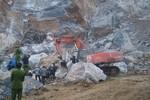Công an Thanh Hóa thông tin chính thức vụ sập mỏ đá làm 8 người chết