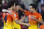 Thêm bằng chứng mâu thuẫn Messi - Villa: Không thèm ăn mừng bàn thắng cùng nhau