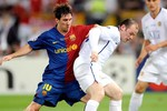 Barca thiết kế cặp song sát Rooney - Messi