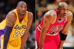 Kobe Bryant là 'anh em sinh đôi' với huyền thoại Michael Jordan?
