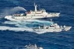Tàu tuần tra Đài Loan tái xuất hiện gần nhóm đảo Senkaku