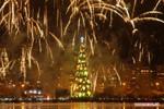 Thắp sáng cây thông Noel lớn nhất thế giới tại Brazil