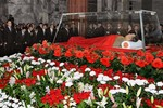 Triều Tiên đưa du thuyền vào lăng mộ ông Kim Jong-il