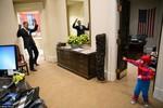 Những khoảnh khắc đời thường vui nhộn của TT Obama
