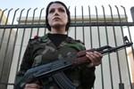 Tổng thống Syria lập đội 500 nữ quân nhân đảm bảo an ninh