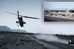 Video: Chạy đua với xe hơi, trực thăng AH-1 Cobra đâm đầu xuống đất