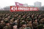 Triều Tiên mít tinh quy mô lớn mừng thử nghiệm hạt nhân thành công