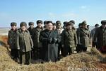 Kom Jong-un giám sát tập trận, chỉ đạo trực chiến 24/24