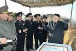 Kim Jong-un trực tiếp chỉ huy tập trận đổ bộ và chống đổ bộ