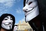 Anonymous tuyên bố đánh sập 5 trang web của chính phủ Triều Tiên