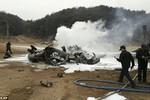 Video: Hiện trường rơi trực thăng quân sự Mỹ gần biên giới Triều Tiên