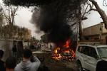 Đánh bom xe tại đại sứ quán Pháp ở Libya
