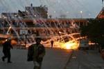 Không quân Israel không kích người Palestine tại Dải Gaza