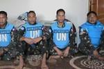 Phiến quân Syria bắt 4 nhân viên Liên Hợp Quốc