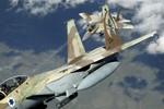 Chiến đấu cơ Israel lại xâm nhập Li Băng, lởn vởn gần Syria