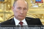 Thông điệp ngân sách của Tổng thống Nga