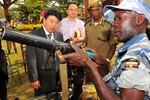 Thứ trưởng An ninh Triều Tiên ký hợp đồng đào tạo cảnh sát Uganda