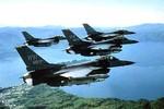 Nhật-Mỹ điều 16 chiếc F-16 và F-15 giám sát Nga-Trung tập trận
