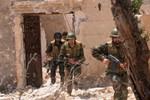 Quân đội Syria tiêu hiệt hàng chục phiến quân gần Damascus
