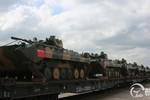 Ảnh: Loạt vũ khí Trung Quốc điều tới Nga tập trận chung