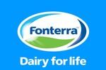 Sữa Fonterra thừa nhận một số sản phẩm có thể gây ngộ độc