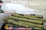 Video: Phiến quân tịch thu tên lửa chống tăng tại kho vũ khí phe Assad