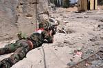 Phe Assad phục kích phiến quân Syria cắt đường tiếp viện gần Damascus
