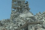 Video: Cảnh đổ nát tại thành Homs sau khi quân đội Syria tái chiếm