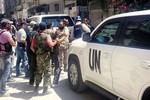 Thanh tra Liên Hợp Quốc rời Syria, kết quả sẽ có trong vài ngày tới